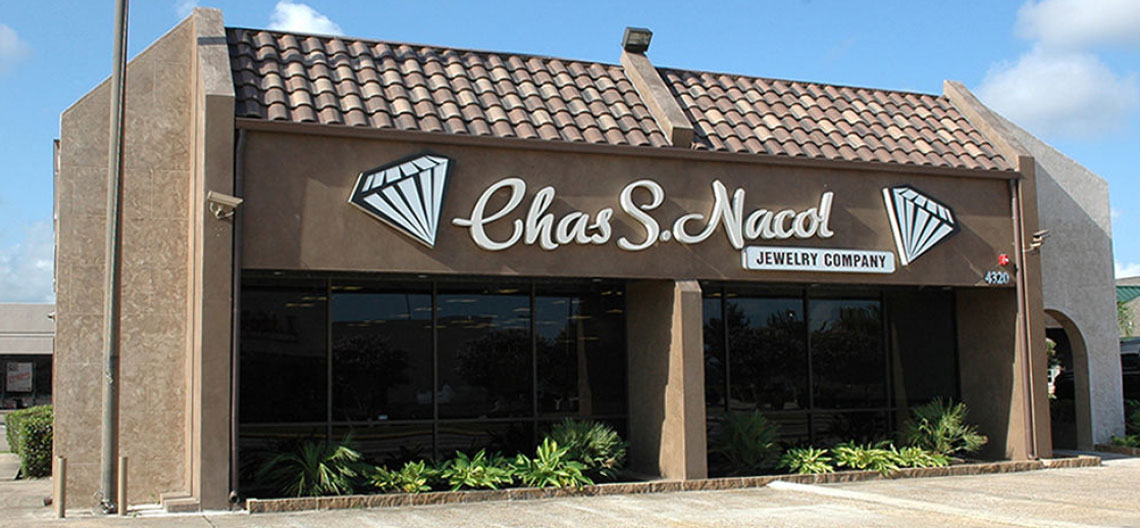 Contact us charles s nacol jewelry company for Sander s motor co beaumont tx