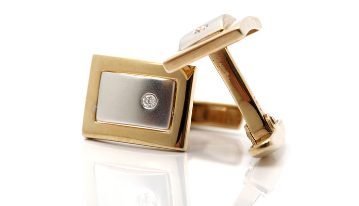 Diamond Cufflinks in Beaumont, Texas